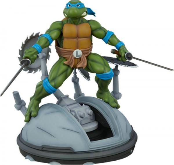 Teenage Mutant Ninja Turtles: Leonardo - Statue 1/4 - Pop Culture Shock