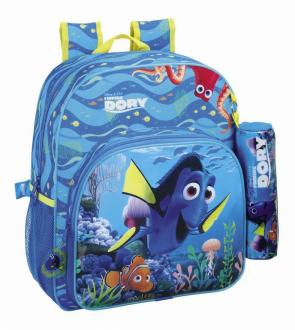 Finding Dory Backpack with Pencil Case Dory & Nemo 38 cm