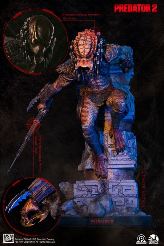 Predator 2 Statue 1/4 City Hunter Ultimate Edition 65 cm