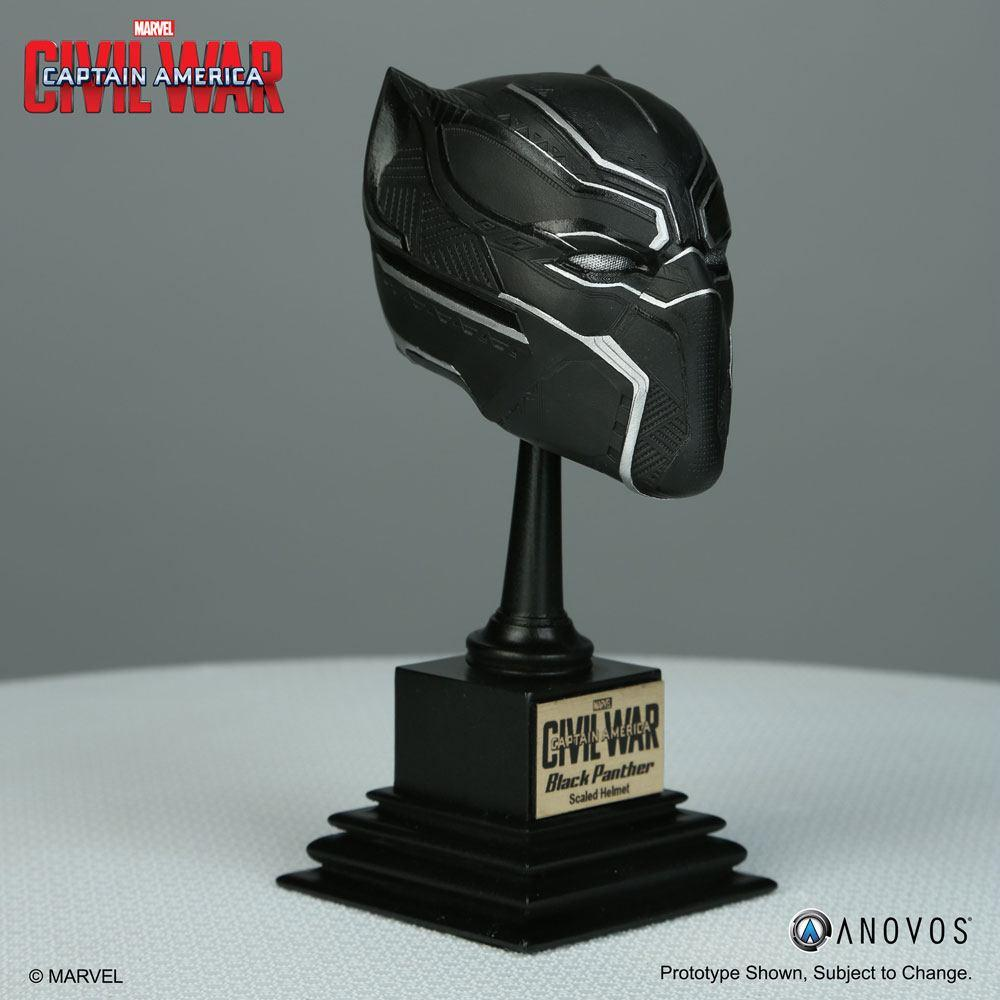 Captain America Civil War Replica 1/3 Black Panther Helmet