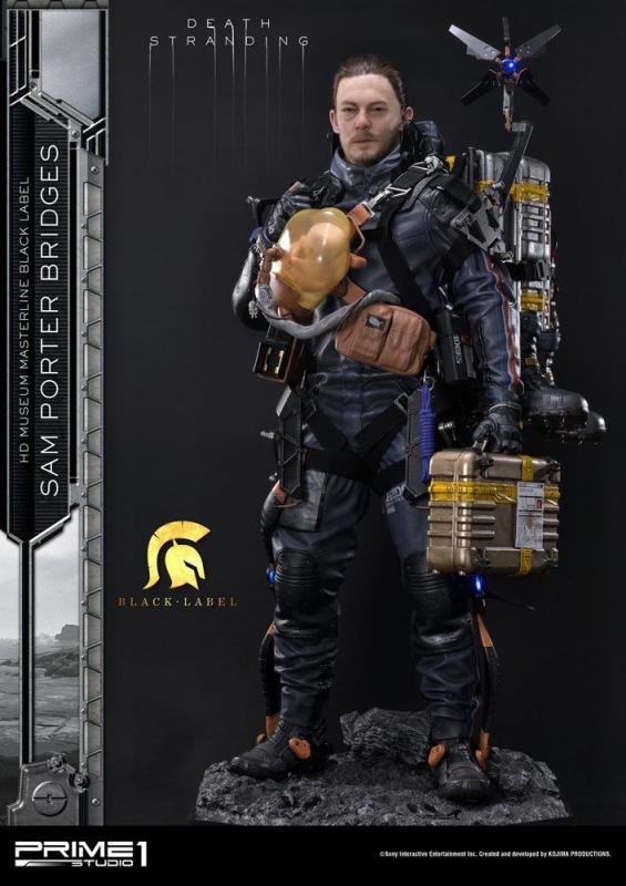 Death Stranding Statue 1/2 Sam Porter Bridges Black Label 106 cm