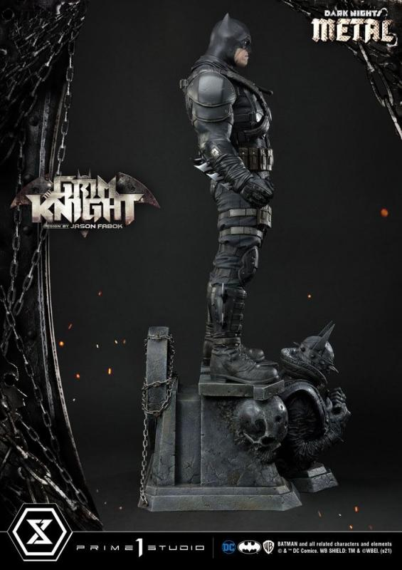 Dark Nights: Metal The Grim Knight by Jason Fabok - Statue  82 cm - Prime 1 Studio