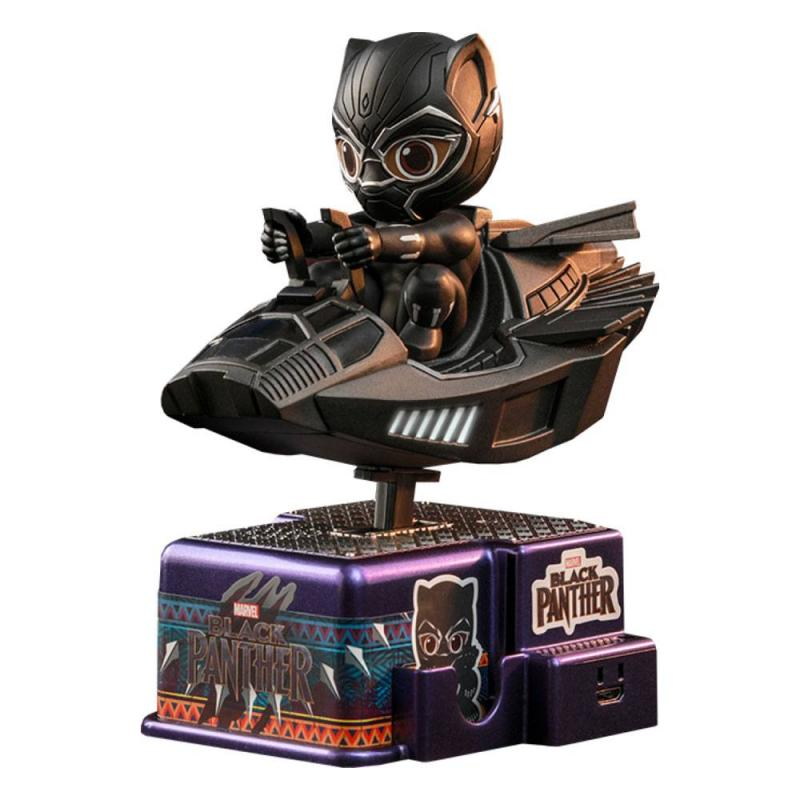 Black Panther CosRider Mini Figure with Sound & Light Up Black Panther 15 cm