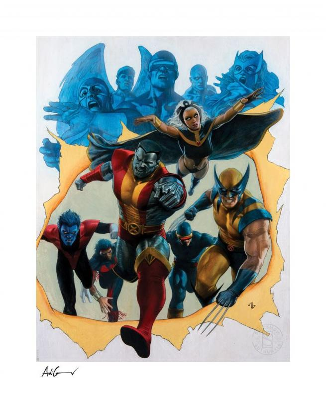 Marvel Art Print Giant-Size X-Men 56 x 67 cm - unframed