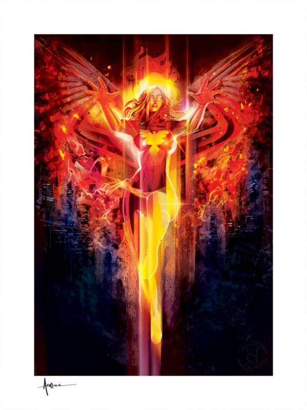 Marvel Art Print Dark Phoenix 46 x 61 cm - unframed