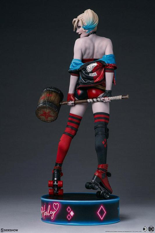 DC Comics Premium Format Figure Harley Quinn: Hell on Wheels 51 cm