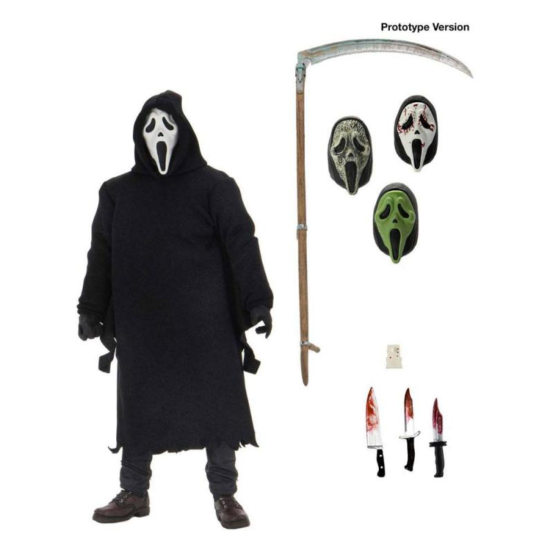 Scream Action Figure Ultimate Ghostface 18 cm
