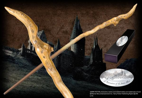 Harry Potter Wand Gregorovitch (Character-Edition) - Noble Collection