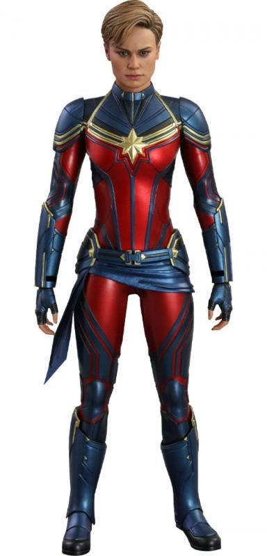 Avengers: Endgame Movie Masterpiece Series PVC Action Figure 1/6 Captain Marvel 29 cm