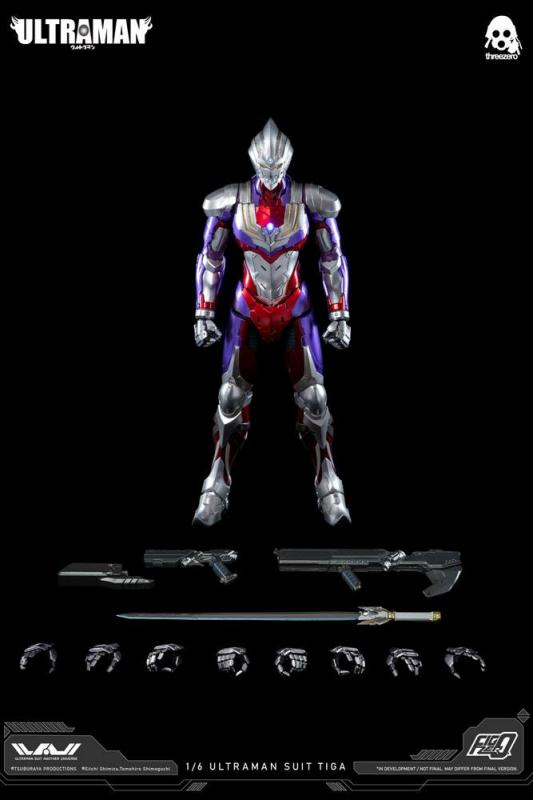 Ultraman FigZero: Suit Tiga 1/6 Action Figure - ThreeZero