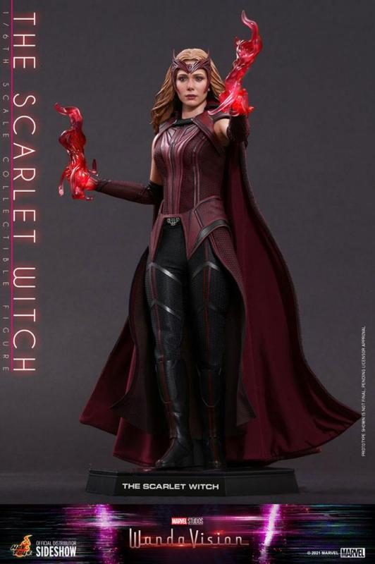 WandaVision: The Scarlet Witch 1/6 Action Figure - Hot Toys