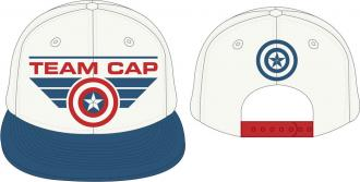 Captain America Civil War Adjustable Cap Team Cap