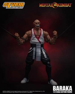 Mortal Kombat Action Figure 1/12 Baraka 18 cm