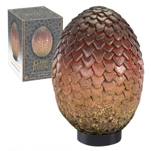 Game of Thrones Dragon Egg Prop Replica Drogon 20 cm