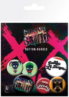 Suicide Squad Pin Badges 6-Pack Lil Monster