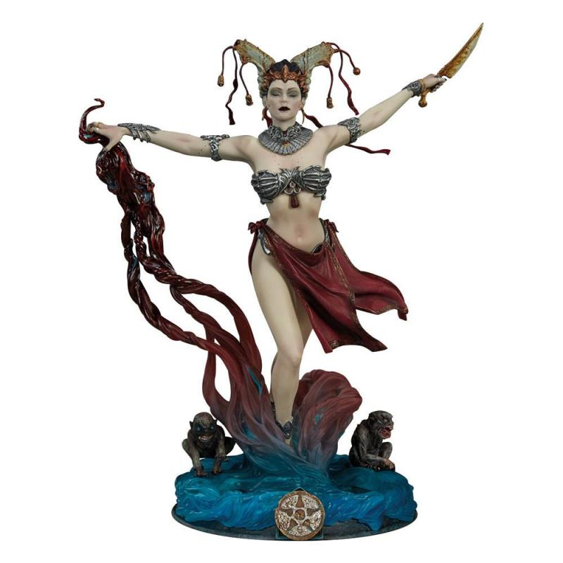 Court of the Dead: Gethsemoni - Queens Conjuring 25 cm PVC Statue - Sideshow Collectibles
