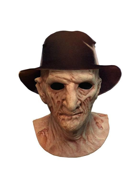 A Nightmare on Elm Street 2: Freddy Krueger - Deluxe Latex Mask with Hat - Trick Or Treat