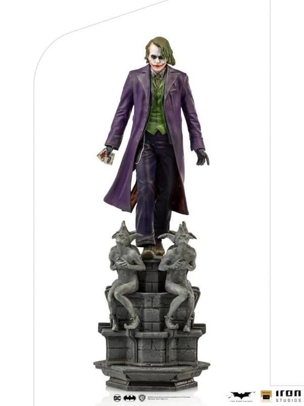 The Dark Knight: The Joker 1/10 Deluxe Statue - Iron Studios