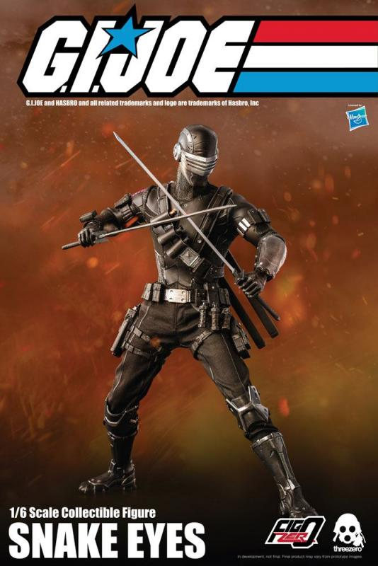 G.I. Joe: Snake Eyes - Action Figure 1/6 - ThreeZero