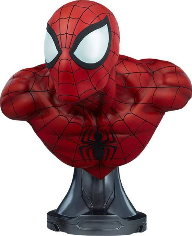 Marvel: Spider-Man 1/1 Bust - Sideshow Collectibles