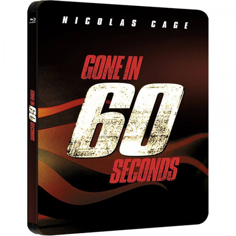 Gone in 60 seconds Blue-ray Steelbook
