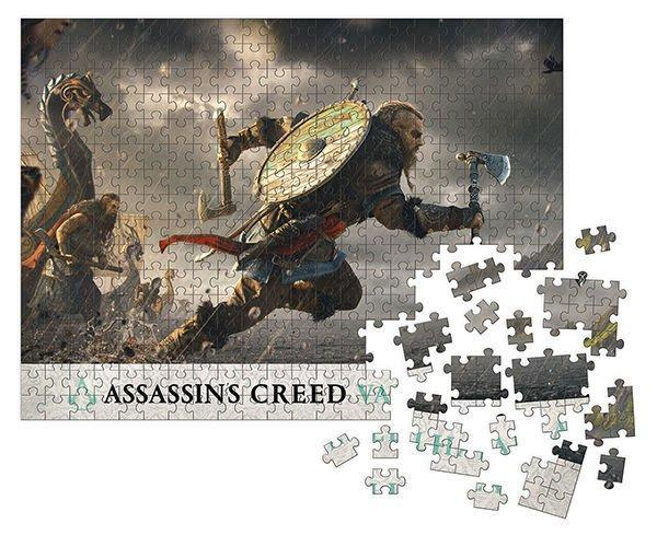 Assassin's Creed Valhalla Jigsaw Puzzle Fortress Assault (1000 pieces) - Dark Horse