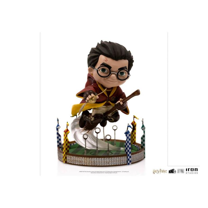 Harry Potter: Harry Potter at the Quiddich Match - Mini Co. Illusion PVC 13 cm - Iron