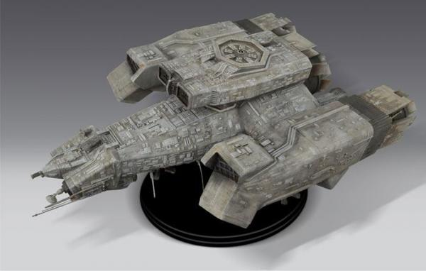 Alien Model Replica Nostromo 66 x 43 cm