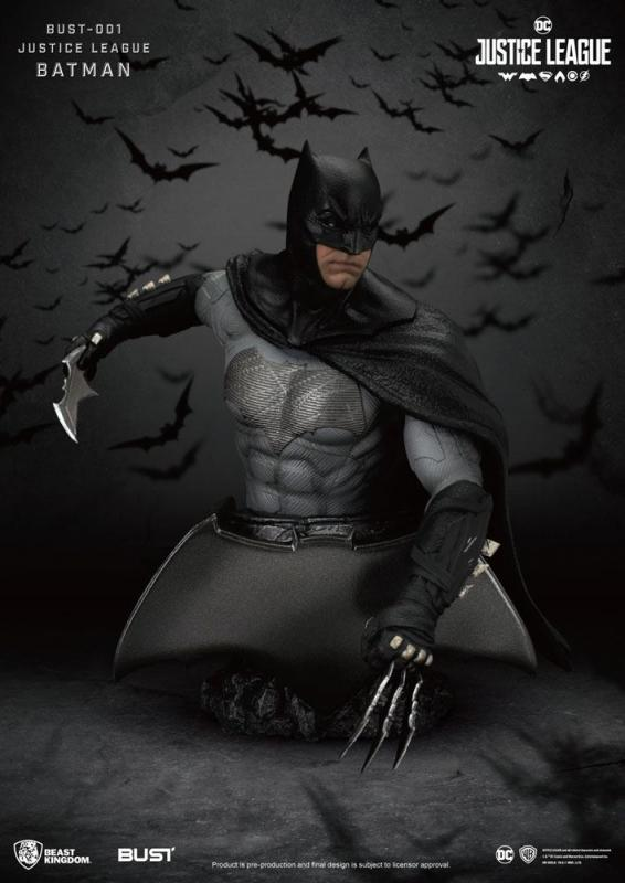 Justice League: Batman - PVC Bust 16 cm - Beast Kingdom