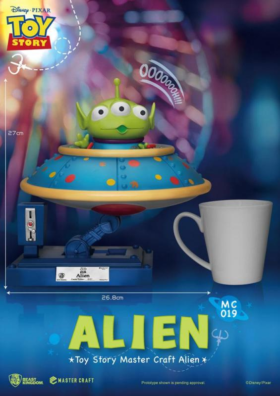 Toy Story Master Craft Statue Alien 26 cm