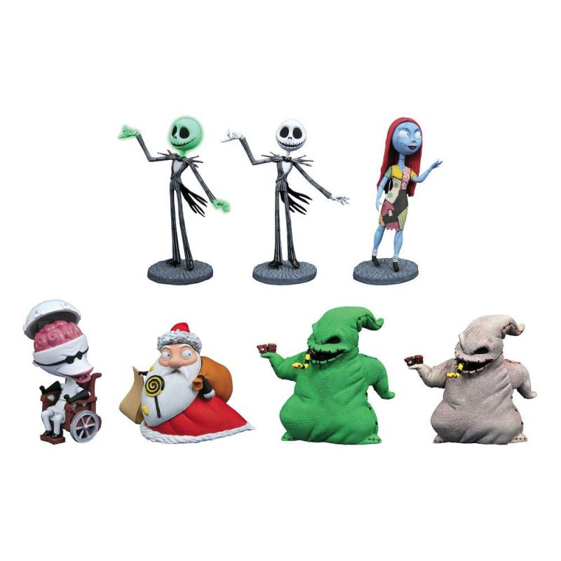 Nightmare Before Christmas D-Formz PVC Figures Series 2 Display (12) - Diamond Select