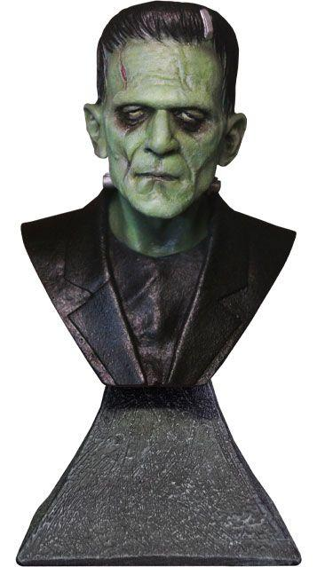 Universal Monsters: Frankenstein - Mini Bust 15 cm - Trick Or Treat Studios