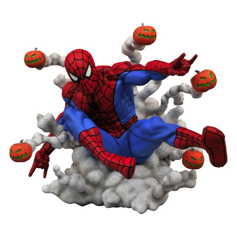 Marvel Comics: Spider-Man Pumpkin Bombs 15 cm Gallery PVC Statue - Diamond Select