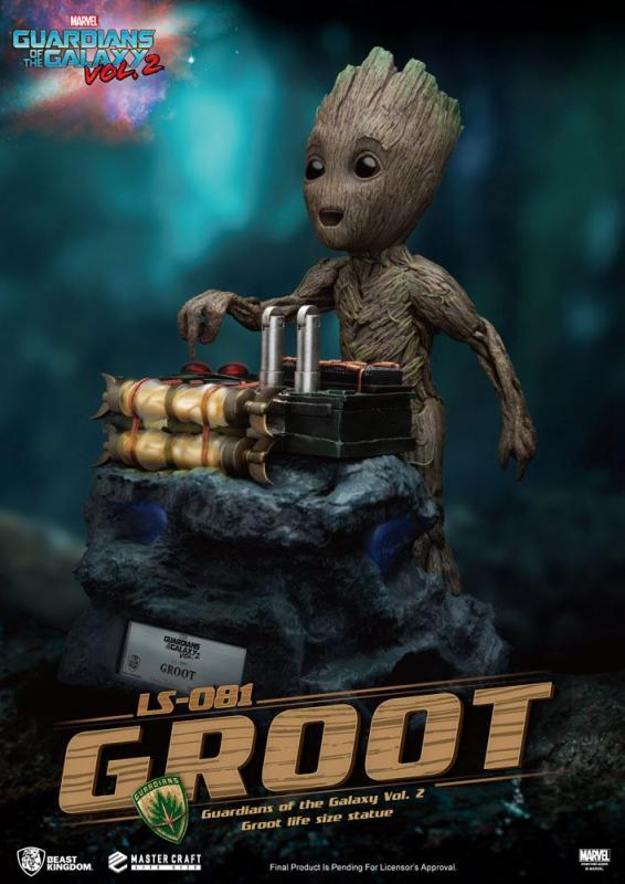 Guardians of the Galaxy 2: Baby Groot Life-Size Statue - Beast Kingdom Toys
