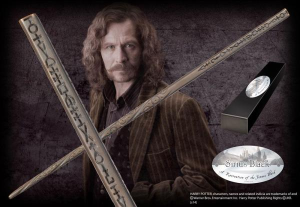 Harry Potter Wand Sirius Black (Character-Edition) - Noble Collection