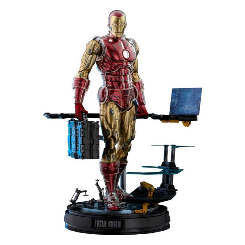 Marvel: Iron Man (The Origins Collection) 1/6 Action Figure Deluxe Version - Hot Toys
