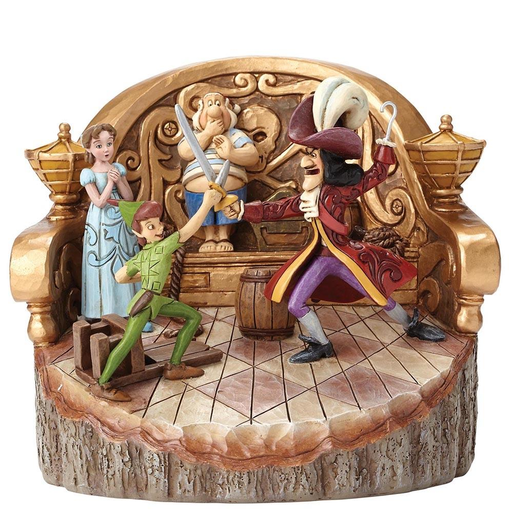 Daring Duel (Carved by Heart Peter Pan Figurine)
