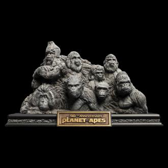 Planet of the Apes Statue Apes Through the Ages 29 cm