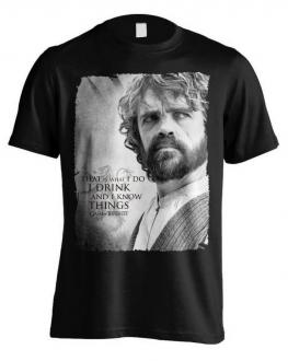 Game of Thrones T-Shirt Tyrion Poster