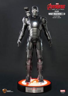 Avengers Age of Ultron Life-Size Man War Machine 220 cm