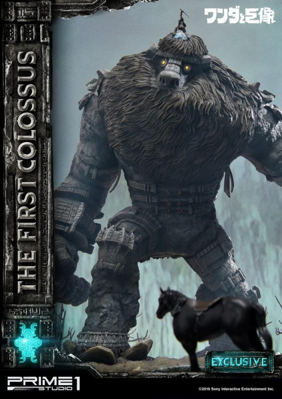 Shadow of the Colossus Statues First Colossus & First Colossus Exclusive 47 cm Assortment