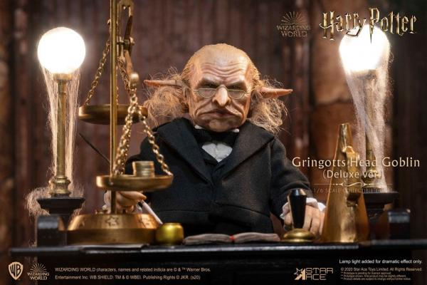 Harry Potter: Gringotts Head Goblin 1/6 Action Figure Deluxe Ver. - Star Ace Toys