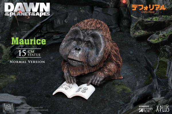 Dawn of the Planet of the Apes: Maurice 15 cm Soft Vinyl Statue - Star Ace Toys