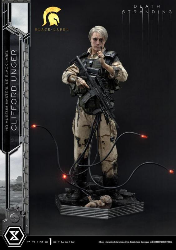 Death Stranding: Clifford Unger Black Label 1/2 Statue - Prime 1 Studio