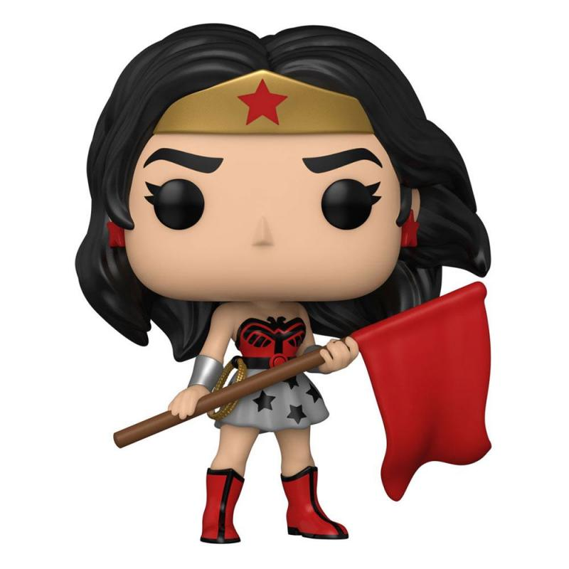 DC Comics: WW 80th 9 cm POP! Heroes Vinyl Figure (Superman: Red Son) - Funko