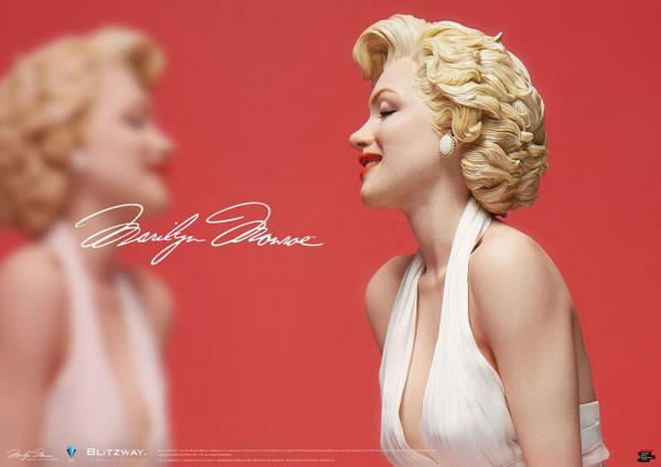 Marilyn Monroe - Superb Scale Hybrid Statue 1/4 - Blitzway