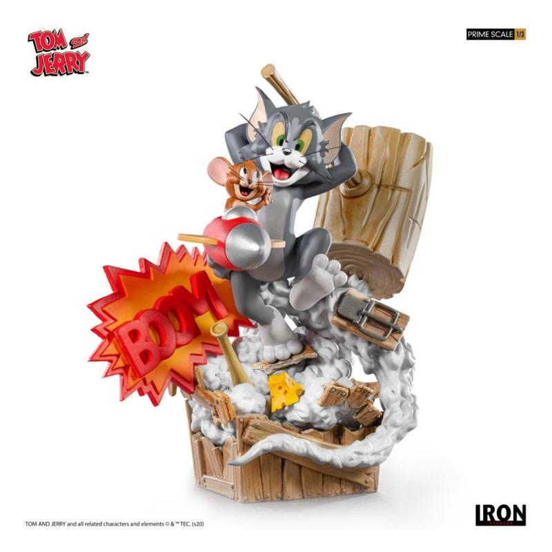 Tom & Jerry: Tom & Jerry - Prime Scale Statue 1/3 - Iron Studios