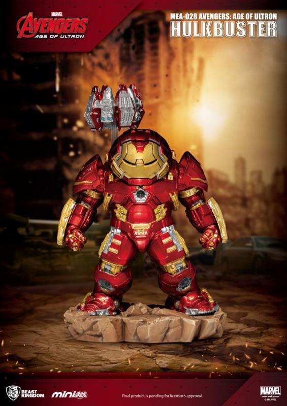 Avengers Age of Ultron: Hulkbuster 13 cm Egg Attack Figure - Beast Kingdom Toys