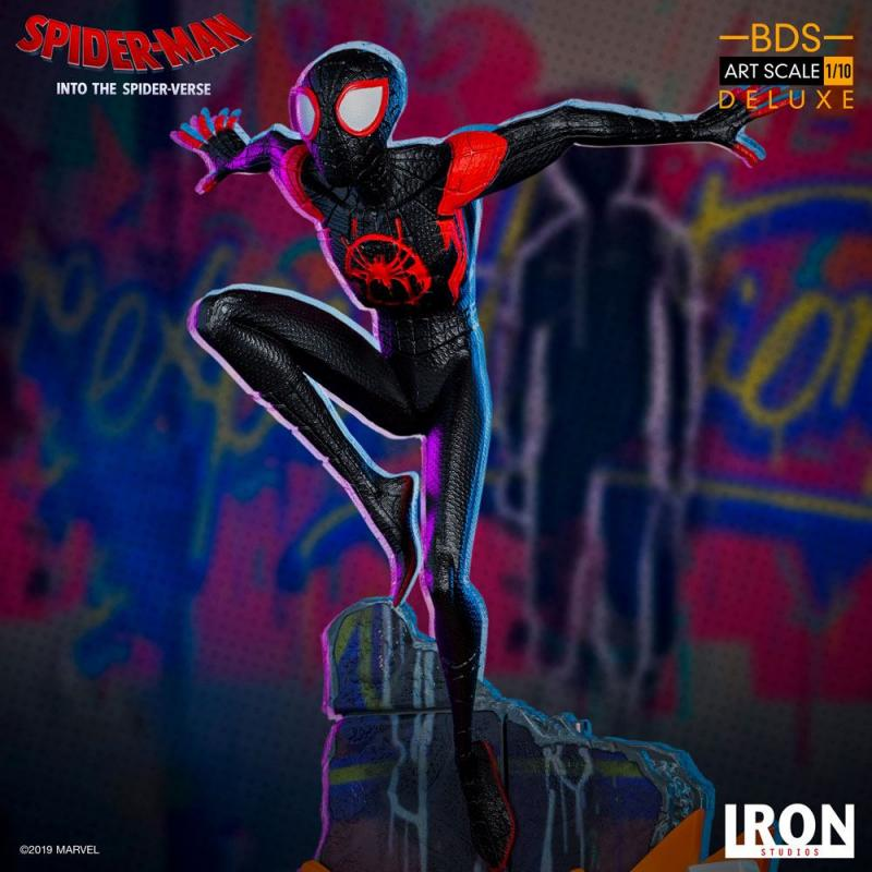 Spider-Man: Into the Spider-Verse BDS Art Scale Deluxe Statue 1/10 Miles Morales 22 cm