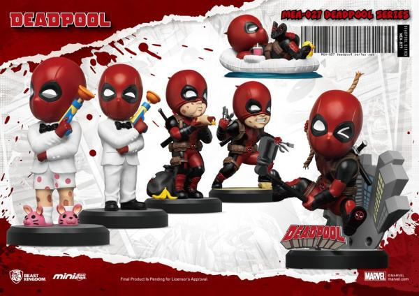 Marvel: Deadpool (6) 8 cm Mini Egg Attack Figure - Beast Kingdom Toys